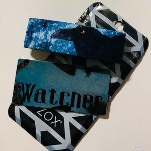 ZOX Strap Wristband & Card - Watcher  * Crow